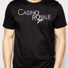 Best Buy Casino Royal logo black 007 James Bond Men Adult T-Shirt Sz S-2XL