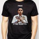 Best Buy Free Vybz Kartel Gaza Rap Hip Hop Singer Reggae Men Adult T-Shirt Sz S-2XL