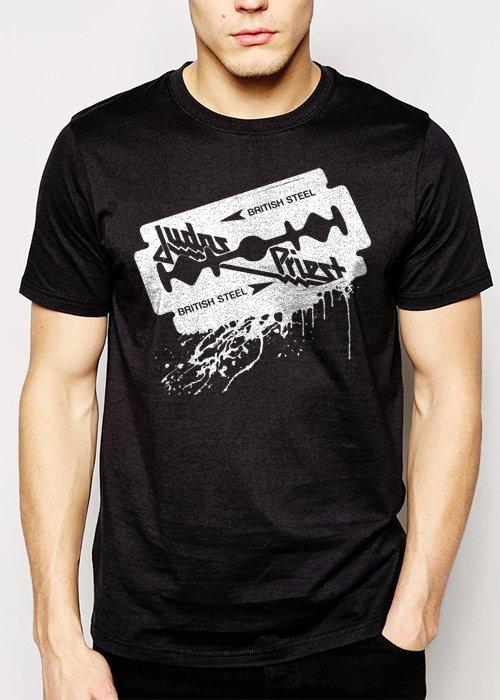 Best Buy JUDAS PRIEST LOGO MUSIC ROCK PUNK Men Adult T-Shirt Sz S-2XL