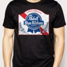 Best Buy Pabst Blue Ribbon Beer Logo Men Adult T-Shirt Sz S-2XL