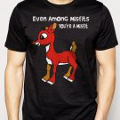 Best Buy Rudolph Reindeer cool retro vintage Christmas Men Adult T-Shirt Sz S-2XL