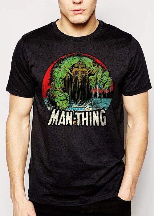 Best Buy The Man-Thing Marvel Comics The Thing Hulk Howard Men Adult T-Shirt Sz S-2XL