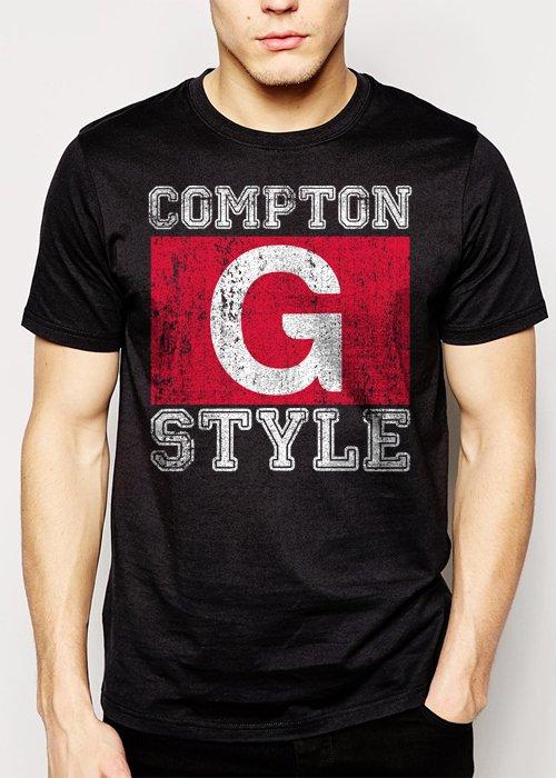 Best Buy Compton G Style Gangsta Ice Cube Gangster Hip Hop Men Adult T-Shirt Sz S-2XL