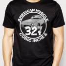 Best Buy 327 CI AMERICAN MUSCLE CAR GM CHEVY CAMARO Men Adult T-Shirt Sz S-2XL