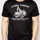 Best Buy Camel Towing Adult Humor Rude Tow Truck Men Adult T-Shirt Sz S-2XL
