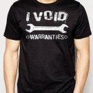 Best Buy I Void Warranties Mechanic Wrench Men Adult T-Shirt Sz S-2XL