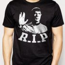 Best Buy Mr Spock RIP Leonard Nimoy Star Trek Men Adult T-Shirt Sz S-2XL