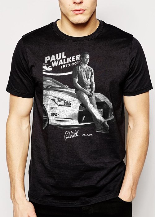 Best Buy Paul Walker, RIP, Fast And Furious, one last ride Men Adult T-Shirt Sz S-2XL
