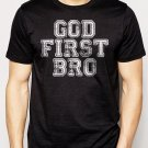Best Buy God First Bro Men Adult T-Shirt Sz S-2XL