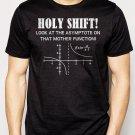 Best Buy Holy Shift Asymptote Calculus Math Geek Men Adult T-Shirt Sz S-2XL
