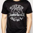 Best Buy Jurassic World Superbowl Men Adult T-Shirt Sz S-2XL
