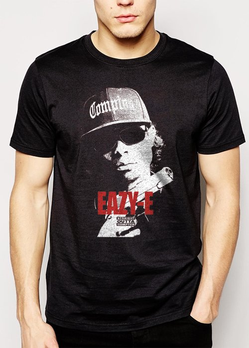 Best Buy Straight Outta Compton Eazy E Men Adult T-Shirt Sz S-2XL