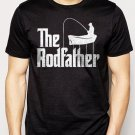 Best Buy The Rodfather Pun Parody Fishing Men Adult T-Shirt Sz S-2XL