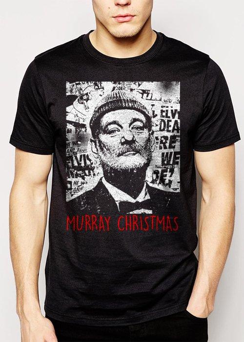 Best Buy Bill Murray Christmas Funny Men Adult T-Shirt Sz S-2XL