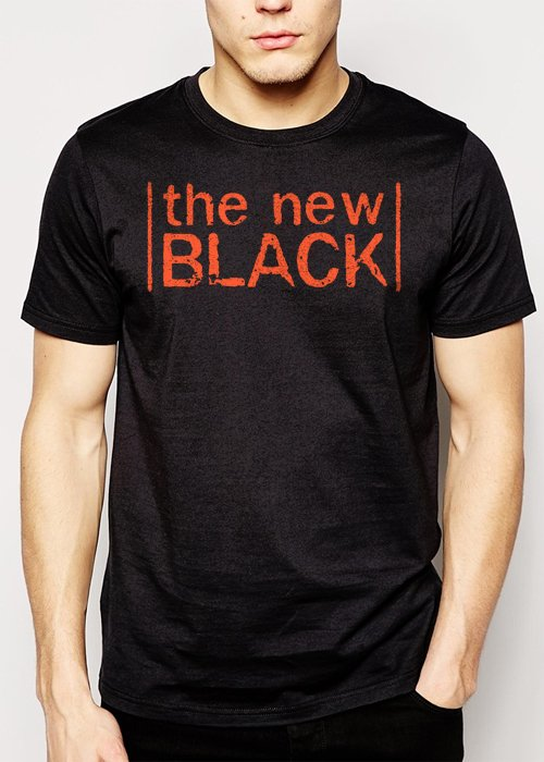 Best Buy The New Black Orange is OITNB Men Adult T-Shirt Sz S-2XL