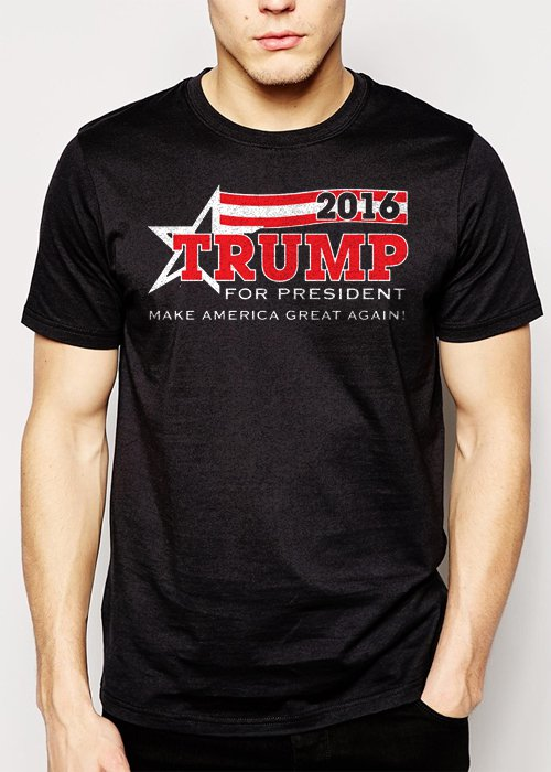 Best Buy TRUMP for President 2016 Men Adult T-Shirt Sz S-2XL