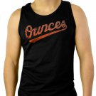 Baltimore Orioles OuncesTroy Ave Rap Hip Hop Men Black Tank Top Sleeveless