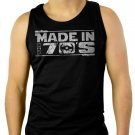 Made In The 70'S 40Th Birthday Star War Men Black Tank Top Sleeveless