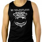 BE RELENTLESS WORKOUT CROSSFIT BEAST MODE Men Black Tank Top Sleeveless