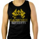 Nakatomi Towers Security Movie Die Hard Men Black Tank Top Sleeveless