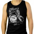 Paul Walker, RIP, Fast And Furious, one last ride Men Black Tank Top Sleeveless