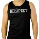 Respect 2 Re2pect Derek Jeter Captain Men Black Tank Top Sleeveless