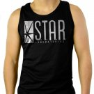 Star Labs Captain TV Laboratories Men Black Tank Top Sleeveless