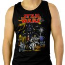 Star Wars Full Force Men Black Tank Top Sleeveless