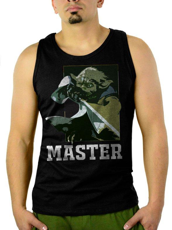 Star Wars Master Force Men Black Tank Top Sleeveless