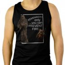 Star Wars Wookie Fire Men Black Tank Top Sleeveless