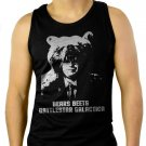 THE OFFICE BEARS BEETS BATTLESTAR GALACTICA Men Black Tank Top Sleeveless