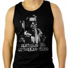 ARNOLD IS NUMERO UNO Men Black Tank Top Sleeveless