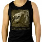 Awesome Possum animal mammal lover Men Black Tank Top Sleeveless