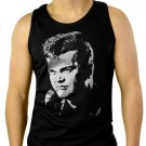 Conway Twitty Country Music Star Men Black Tank Top Sleeveless