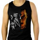 Dare to Zlatan Inspired Men Black Tank Top Sleeveless