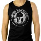 GYM BODYBUILDING MOTIVATION Men Black Tank Top Sleeveless