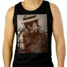 Hunter S. Thompson Men Black Tank Top Sleeveless