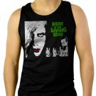 Night of the Living Dead george romero zombie, horror Men Black Tank Top Sleeveless