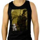 The Last Of Us Ellie Men Black Tank Top Sleeveless