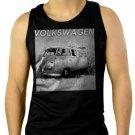 VW volkswagen camper van kombie bus Men Black Tank Top Sleeveless