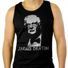 Angus Deaton Great Escape Men Black Tank Top Sleeveless