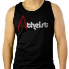 Atheist Religion Evolution Agnostic Atheism Men Black Tank Top Sleeveless