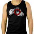 Camera photography photographer design Men Black Tank Top Sleeveless