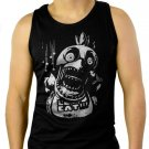 Chica FNAF Five Nights at Freddy's Horror Men Black Tank Top Sleeveless