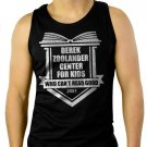 Derek Zoolander Center For Kids Who Can't Read Good Mens  Men Black Tank Top Sleeveless