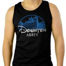DOWNTON ABBEY Castle Bates Sherlock Men Black Tank Top Sleeveless