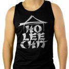 Ho Lee Chit Holy Funny Asian Buffet Men Black Tank Top Sleeveless