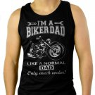 I'm A Biker Dad Funny Motorbike Men Black Tank Top Sleeveless