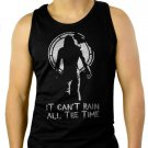 It Cant Rain All The Time The Crow Men Black Tank Top Sleeveless