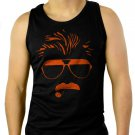 Mike Ditka Chicago 80s Bears Football Men Black Tank Top Sleeveless
